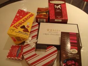 斎藤様よりチョコレート