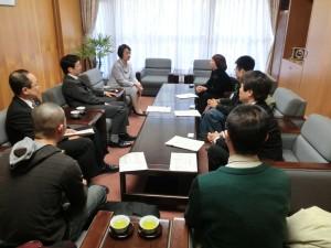 にこまる24h 横浜市記者発表 横浜市長との懇談